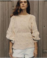 Sessun Marietas Cotton Knit - Natural