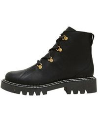 SELECTED Vaga Leather Boot - Black