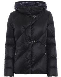 Fay Down Coat - Black