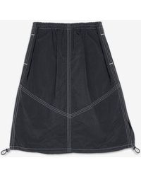 YMC Parachute Skirt - Blue