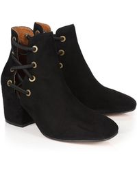 H by Hudson - Hudson Women's Kris Heeled Boots - Lyst