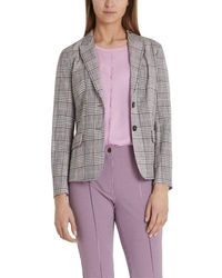 Marc Cain Collections Blazer With Jacquard Pattern Pc 34.16 W19 - Multicolour