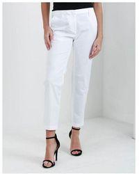 Emporio Armani Fitted Chinos Colour: White