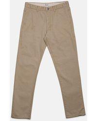 Rhythm Pantalones Jean - Tan - Pink