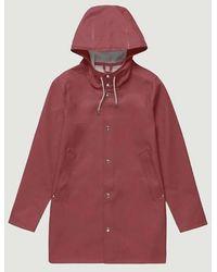 Stutterheim Raincoat Stockholm Burgundy - Red
