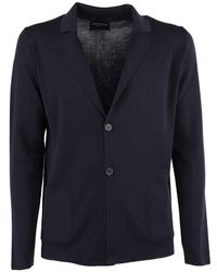 Roberto Collina Knitwear Cardigan - Blue