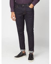 Ben Sherman Dark Denim Rinse Wash Jeans - Blue