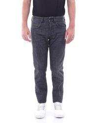 People Jeans Skinny Men Black