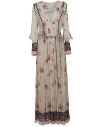 Philosophy Color Viscose Dress - Multicolor