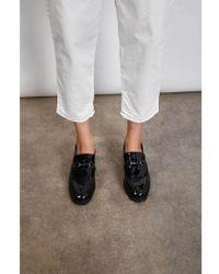 E8 By Miista Dana Patent Black Mid-heels