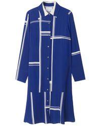 Libertine-Libertine Ease Dress Limouges - Blue