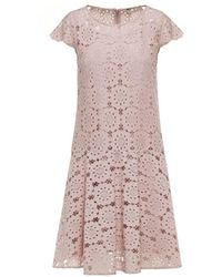 Beatrice B. - Lace Sleeve Dress Pink - Lyst