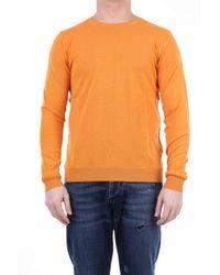 Retois Cotton Sweater - Orange