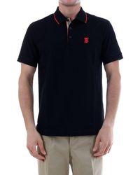 Burberry Polo Shirt Monogram - Black