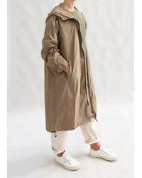 Busby & Fox Liza Rain Coat - Brown