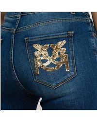 Pinko Pants Blue