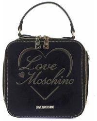 Love Moschino Women's Jc4023pp1blc0000 Black Handbag