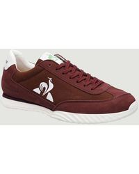 Le Coq Sportif Neree Shoe Burgundy - Red