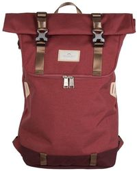 Doughnut Christopher Roll-top Backpack Brick - Red