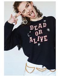 Hayley Menzies Dead Or Alive Jumper - Black