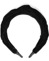 Le Monde Beryl Braid Headband - Black