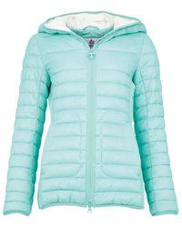 Barbour Womens Saltburn Quilt Jacket Mint - Blue