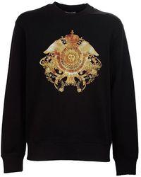 Versace Sweaters Black