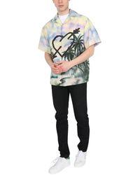 Palm Angels Paradise Bowling Shirt - Multicolor