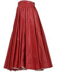 Calvin Klein A-line Skirt - Red