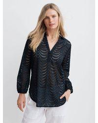 Nrby Jemima Broderie Shirt - Black