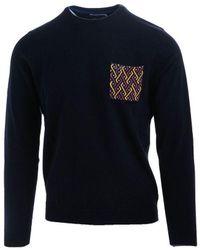 Sun68 Sun 68 Wool Sweater - Black