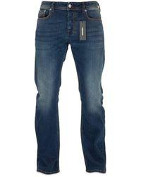 DIESEL Zatiny 84bu Bootcut Jeans - Dark - Blue
