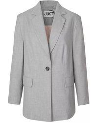 Just Female Flash Blazer | Grey |