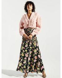 Hayley Menzies Dream In Colour Midaxi Panel Skirt - Black