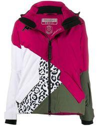Kappa Women's 304qp70940 Multicolor Synthetic Fibers Outerwear Jacket