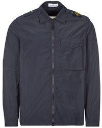 Stone Island Overshirt - Navy - Blue