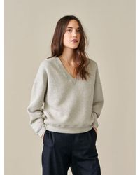 Bellerose Fioush Sweatshirt - Gray
