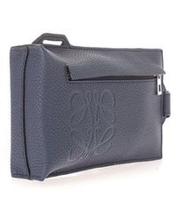 Loewe Other Materials Pouch - Blue