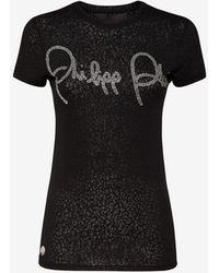 Philipp Plein T-shirts And Polos - Black