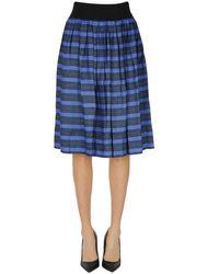 Bellerose Striped Skirt - Blue