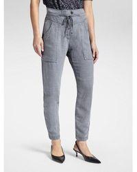 Sandwich Sienna Comfort Fit Trousers - Grey