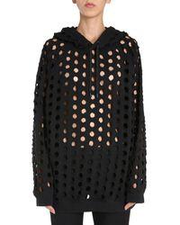 Maison Margiela Oversize Fit Sweatshirt - Black