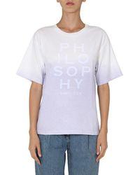 Philosophy - Women's 070171461276 White T-shirt - Lyst