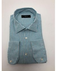 Mr. Portixol Striped Shirt - Blue