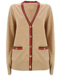 Tory Burch Madeline Cardigan - Brown