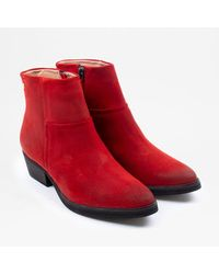 Sneaky Steve | Dashed Suede | Red