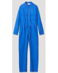 Cocoa Cashmere Ccw3016 Betty Jumpsuit - Electric - Blue