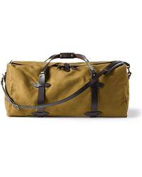 Filson Large Duffle Bag Tan - Brown