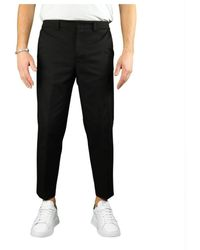 Paolo Pecora Other Materials Pants - Black