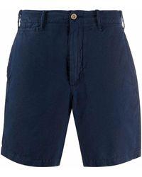 Ralph Lauren Linen Shorts - Blue